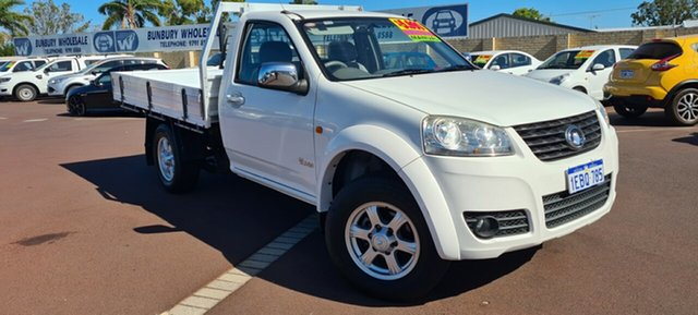 Used Great Wall V240 K2 MY12 4x2 East Bunbury, 2012 Great Wall V240 K2 MY12 4x2 White 5 Speed Manual Cab Chassis