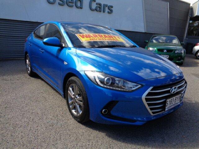 Used Hyundai Elantra AD MY18 Active Elizabeth, 2018 Hyundai Elantra AD MY18 Active Blue 6 Speed Sports Automatic Sedan