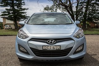 2013 Hyundai i30 GD Active Clean Blue 6 Speed Sports Automatic Hatchback.