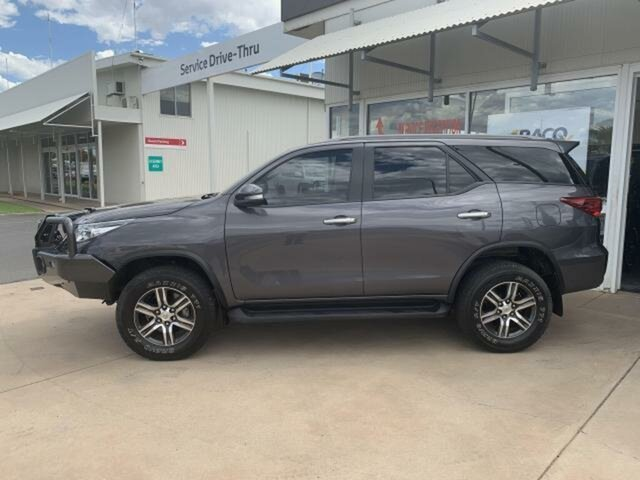 Pre-Owned Toyota Fortuner GUN156R GXL Emerald, 2017 Toyota Fortuner GUN156R GXL 6 Speed Automatic Wagon