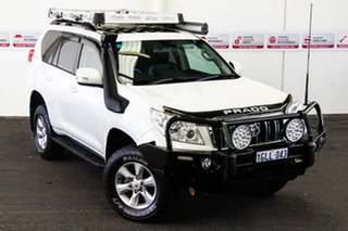 2012 Toyota Landcruiser Prado KDJ150R 11 Upgrade Altitude (4x4) Crystal Pearl 5 Speed.
