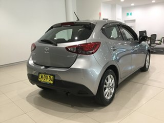 2017 Mazda 2 DJ2HAA Maxx SKYACTIV-Drive Silver 6 Speed Sports Automatic Hatchback.
