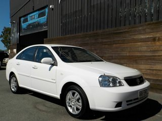 2006 Holden Viva JF Equipe White 4 Speed Automatic Sedan.