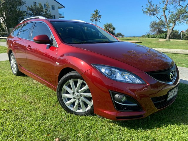 Used Mazda 6 GH1052 MY10 Classic Tugun, 2011 Mazda 6 GH1052 MY10 Classic Red 5 Speed Sports Automatic Wagon