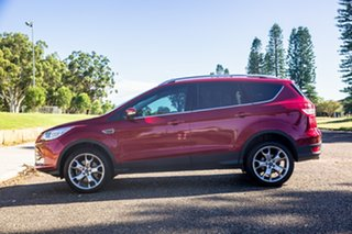 2016 Ford Kuga TF MY16.5 Titanium AWD Ruby Red 6 Speed Sports Automatic Wagon