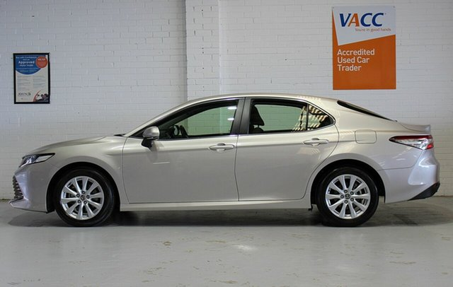 Used Toyota Camry ASV70R Ascent Moorabbin, 2019 Toyota Camry ASV70R Ascent Beige 6 Speed Sports Automatic Sedan