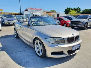 2008 BMW 1 Series E88 135i Steptronic Silver 6 Speed Sports Automatic Convertible