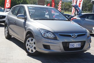 2011 Hyundai i30 FD MY11 SX Hyper Silver 4 Speed Automatic Hatchback.