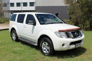 2012 Nissan Pathfinder R51 MY10 ST White 5 Speed Sports Automatic Wagon.