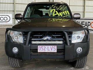 2009 Mitsubishi Pajero NT MY09 Platinum Edition Brown 5 Speed Manual Wagon
