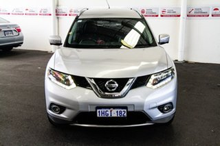 2015 Nissan X-Trail T32 ST-L (FWD) Silver Continuous Variable Wagon.