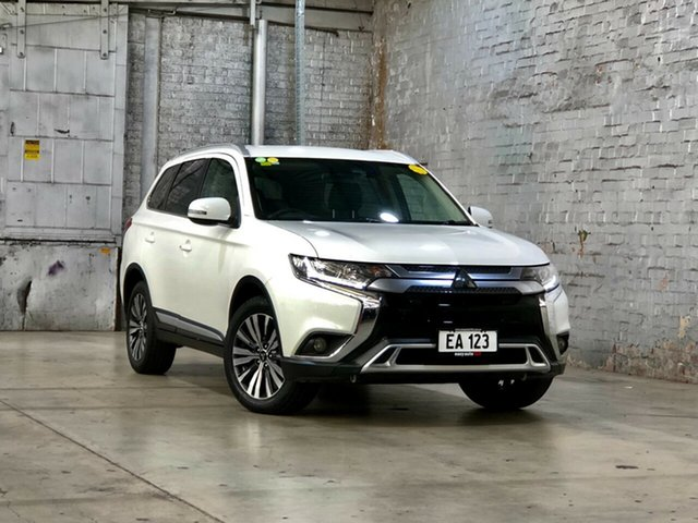 Used Mitsubishi Outlander ZL MY19 ES 2WD Mile End South, 2018 Mitsubishi Outlander ZL MY19 ES 2WD White 6 Speed Constant Variable Wagon