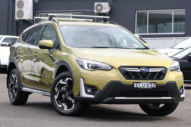 Demo Subaru XV MY21 Hybrid S AWD Brookvale, 2020 Subaru XV MY21 Hybrid S AWD Plasma Yellow Continuous Variable Wagon