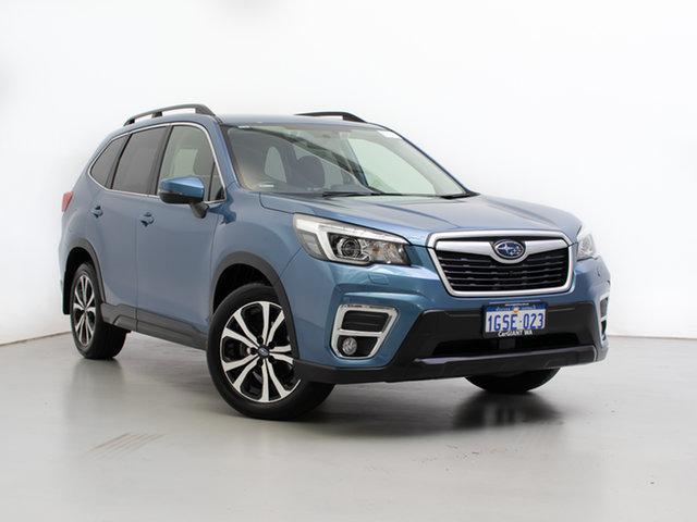 Used Subaru Forester MY19 2.5I Premium (AWD), 2019 Subaru Forester MY19 2.5I Premium (AWD) Blue Continuous Variable Wagon