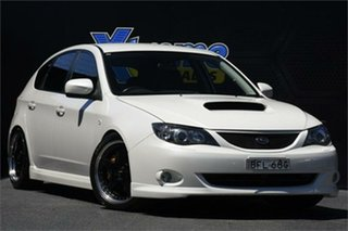 2007 Subaru Impreza S MY07 WRX AWD White 5 Speed Manual Hatchback.