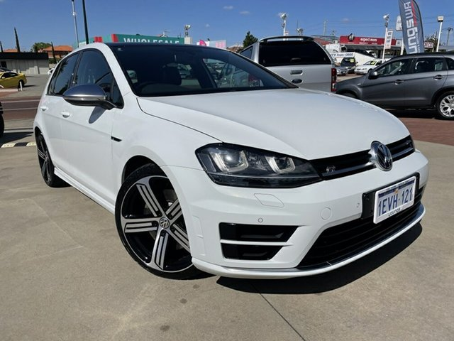 Used Volkswagen Golf AU MY15 R Victoria Park, 2015 Volkswagen Golf AU MY15 R White 6 Speed Direct Shift Hatchback