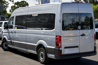 2020 Volkswagen Crafter SY1 MY20 Minibus High Roof LWB 4MOTION TDI410 Silver 8 Speed Automatic Bus.