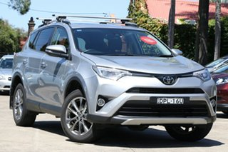 2017 Toyota RAV4 ASA44R MY17 Cruiser (4x4) Silver Sky 6 Speed Automatic Wagon.