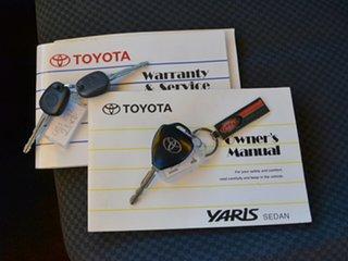 2006 Toyota Yaris NCP93R YRS Silver 4 Speed Automatic Sedan