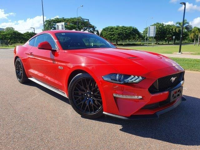 Used Ford Mustang FN 2018MY GT Fastback SelectShift Townsville, 2018 Ford Mustang FN 2018MY GT Fastback SelectShift Red 10 Speed Sports Automatic Fastback