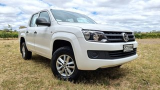 2015 Volkswagen Amarok 2H MY15 TDI400 4MOT Core White 6 Speed Manual Utility.
