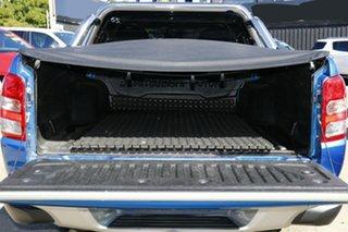 2015 Mitsubishi Triton MQ MY16 GLS Double Cab Blue 5 Speed Sports Automatic Utility