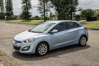 2013 Hyundai i30 GD Active Clean Blue 6 Speed Sports Automatic Hatchback