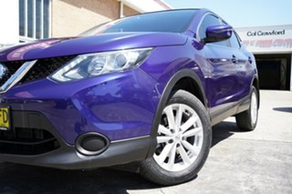 2016 Nissan Qashqai J11 ST Blue 1 Speed Constant Variable Wagon.