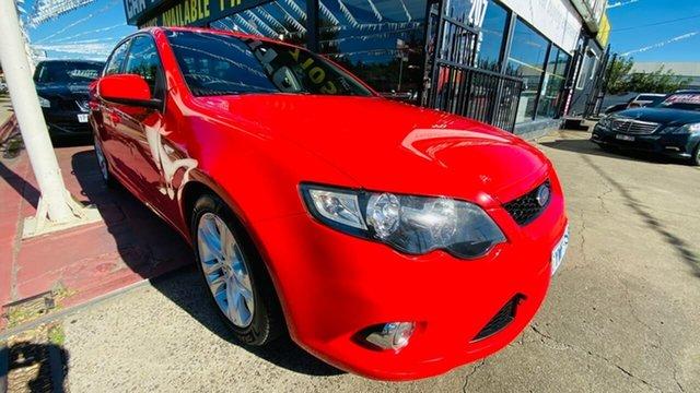 Used Ford Falcon FG XR6 Maidstone, 2008 Ford Falcon FG XR6 Red 6 Speed Sports Automatic Sedan