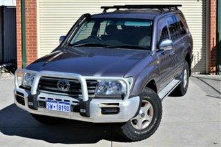 2005 Toyota Landcruiser HDJ100R GXL Silver 5 Speed Automatic Wagon.