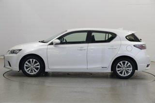 2016 Lexus CT ZWA10R MY16 CT200h Luxury White 1 Speed Constant Variable Hatchback Hybrid.