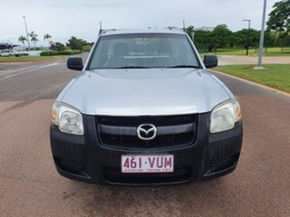 2007 Mazda BT-50 UNY0W3 DX 4x2 Highlight Silver 5 Speed Manual Cab Chassis.