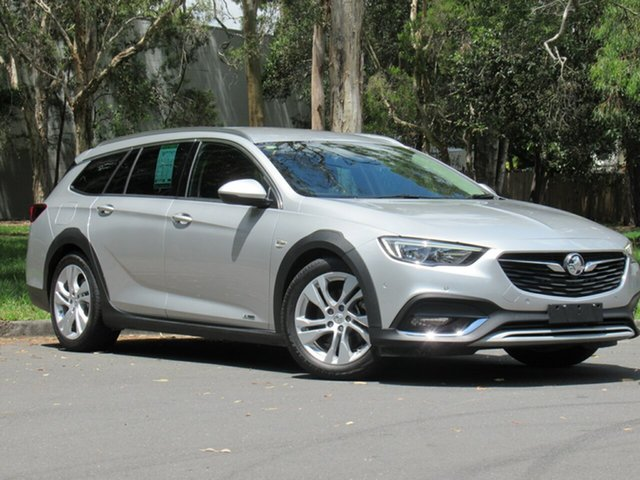 Used Holden Calais ZB MY18 Tourer AWD, 2017 Holden Calais ZB MY18 Tourer AWD Silver 9 Speed Sports Automatic Wagon