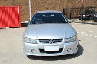 2005 Holden Commodore VZ SV6 Silver 5 Speed Auto Active Select Sedan.