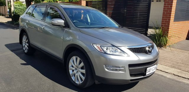 Used Mazda CX-9 09 Upgrade Luxury Prospect, 2009 Mazda CX-9 09 Upgrade Luxury Silver 6 Speed Auto Activematic Wagon