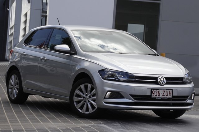 Demo Volkswagen Polo AW MY20 85TSI DSG Style Newstead, 2019 Volkswagen Polo AW MY20 85TSI DSG Style Reflex Silver 7 Speed Sports Automatic Dual Clutch