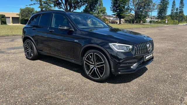 New Mercedes-Benz GLC-Class X253 801MY GLC43 AMG SPEEDSHIFT TCT 4MATIC Port Macquarie, 2020 Mercedes-Benz GLC-Class X253 801MY GLC43 AMG SPEEDSHIFT TCT 4MATIC Obsidian Black Metallic