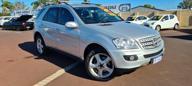 Used Mercedes-Benz M-Class W164 MY08 ML320 CDI East Bunbury, 2008 Mercedes-Benz M-Class W164 MY08 ML320 CDI Silver 7 Speed Sports Automatic Wagon