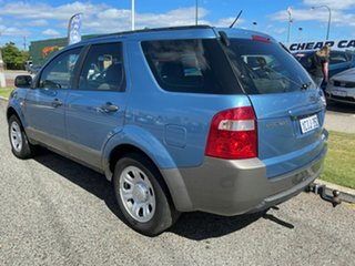 2007 Ford Territory SY TX (RWD) Blue 4 Speed Auto Seq Sportshift Wagon