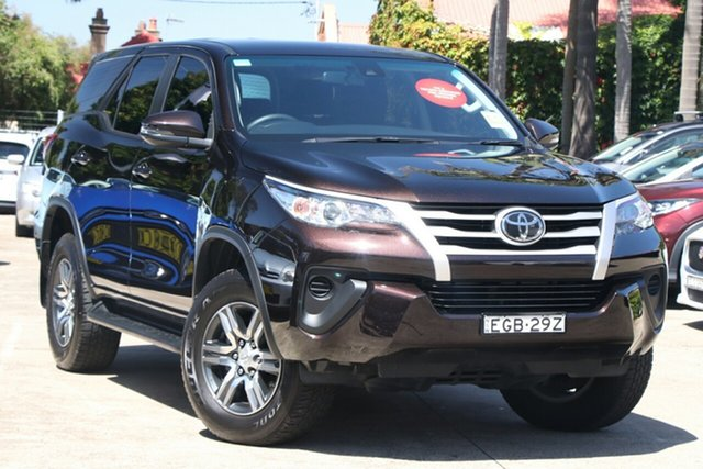 Pre-Owned Toyota Fortuner GUN156R GX Mosman, 2019 Toyota Fortuner GUN156R GX Phantom Brown 6 Speed Automatic Wagon