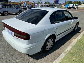 1999 Subaru Liberty GX (AWD) White 4 Speed Automatic Sedan