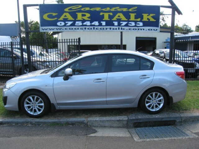 Used Subaru Impreza MY13 2.0I (AWD) Nambour, 2013 Subaru Impreza MY13 2.0I (AWD) Silver 6 Speed Manual Sedan