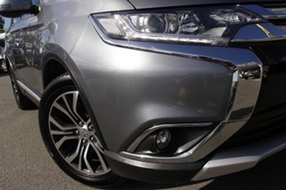 2016 Mitsubishi Outlander ZK MY17 LS 4WD Safety Pack Titanium 6 Speed Constant Variable Wagon.