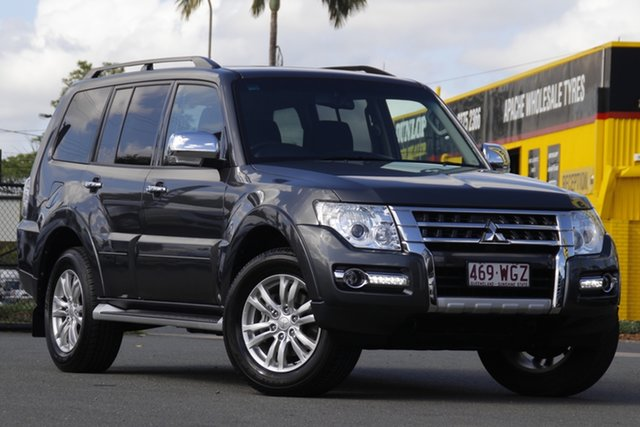 Used Mitsubishi Pajero NX MY17 GLX Rocklea, 2016 Mitsubishi Pajero NX MY17 GLX Graphite 5 Speed Sports Automatic Wagon