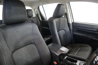 2017 Toyota Hilux GUN126R SR (4x4) White 6 Speed Automatic Dual Cab Utility
