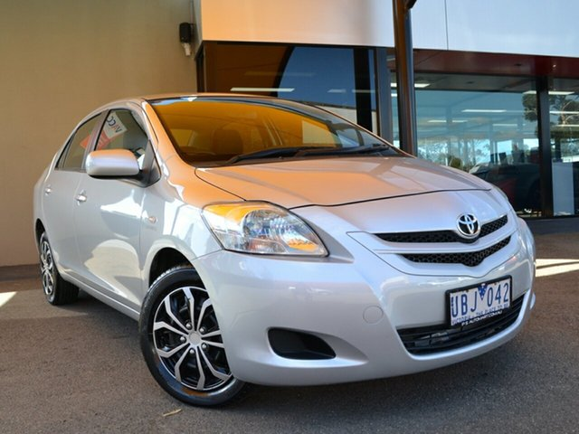 Used Toyota Yaris NCP93R YRS Fawkner, 2006 Toyota Yaris NCP93R YRS Silver 4 Speed Automatic Sedan