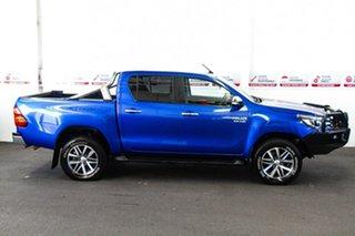 2015 Toyota Hilux GUN126R SR5 (4x4) Nebula Blue 6 Speed Automatic Dual Cab Utility