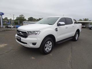 2019 Ford Ranger PX MkIII 2019.75MY XLT Antarctic White 6 Speed Automatic Double Cab Pick Up.