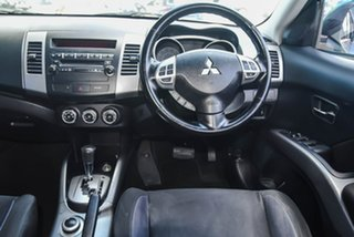 2010 Mitsubishi Outlander ZH MY10 LS Grey 6 Speed Constant Variable Wagon