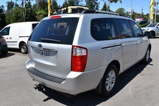 2012 Kia Grand Carnival VQ MY12 S Silver 6 Speed Sports Automatic Wagon.